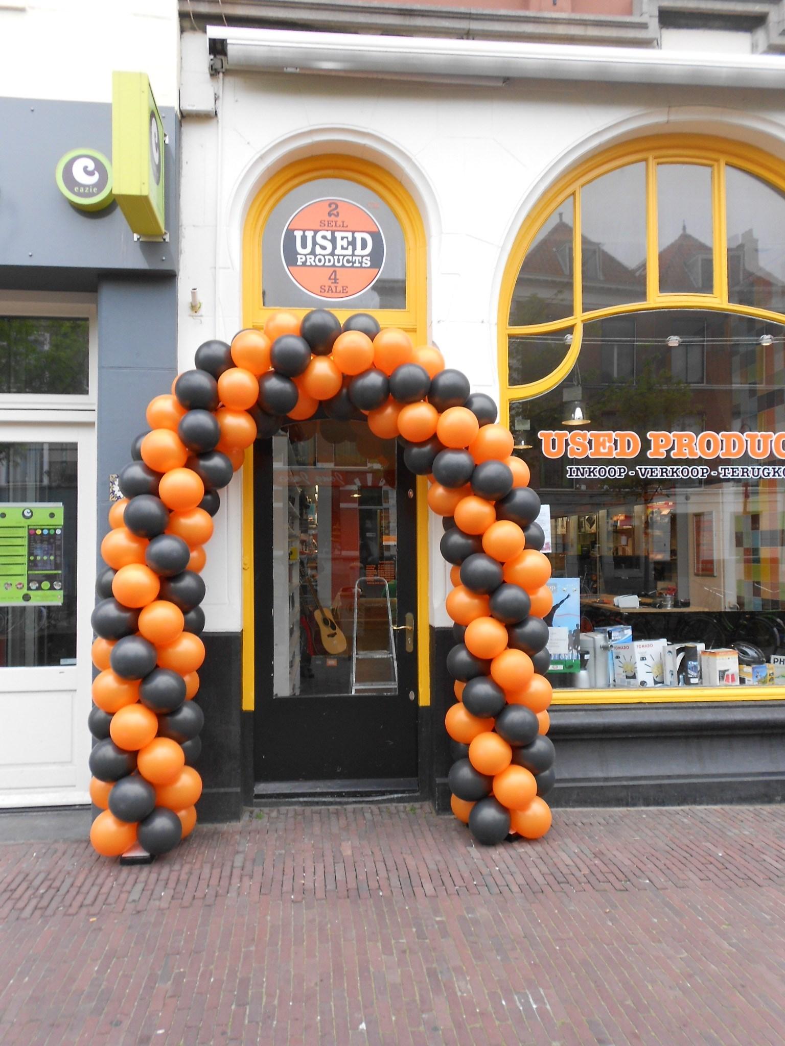 Ballonnenbogen en decoraties ballonnenpartners - Decoratie entree van hal ...