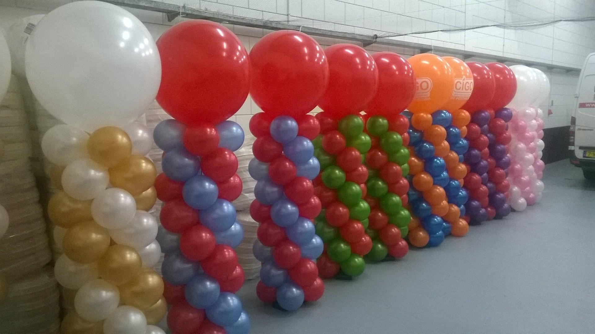 Ballon pilaar of ballon pilaren ballonnenpartners for Ballonnen decoratie zelf maken