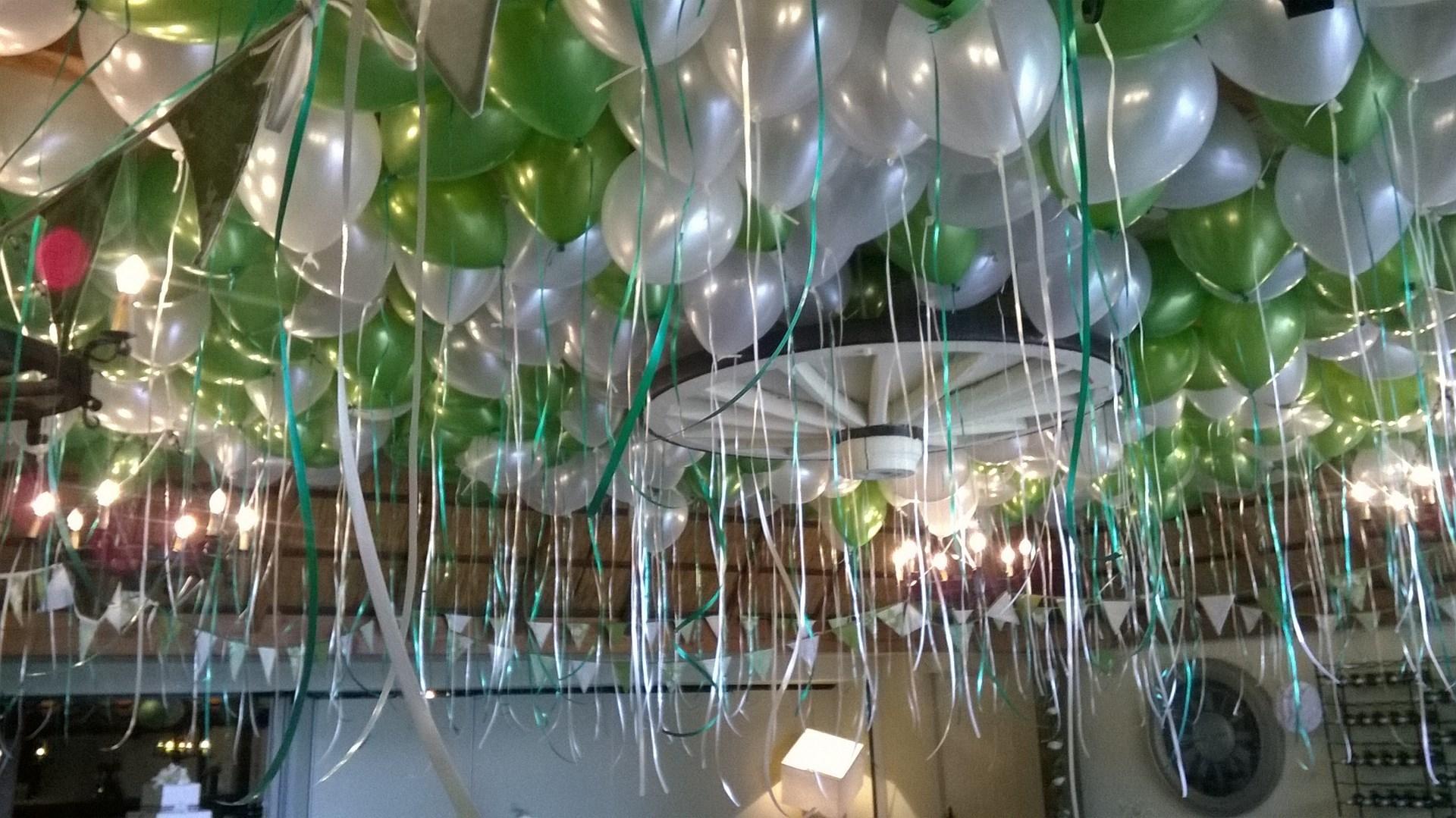 Heliumballonnen ballonnenpartners for Ballonnen tafels