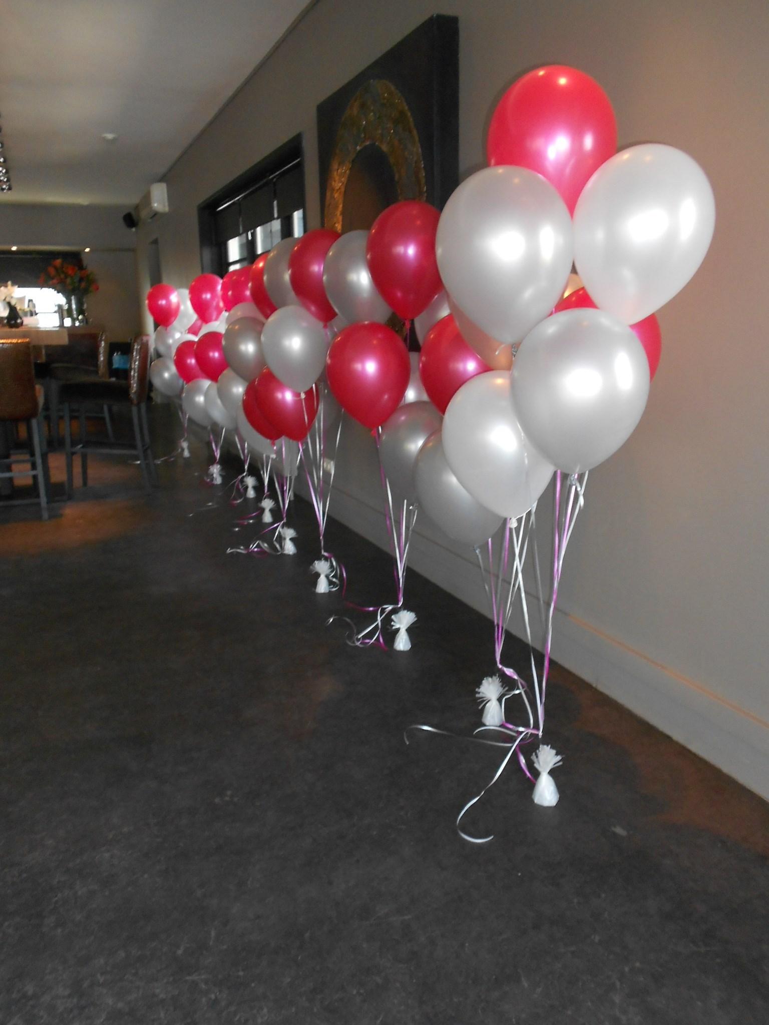 Helium ballon trosjes ballonnenpartners for Decoratie bruiloft zelf maken