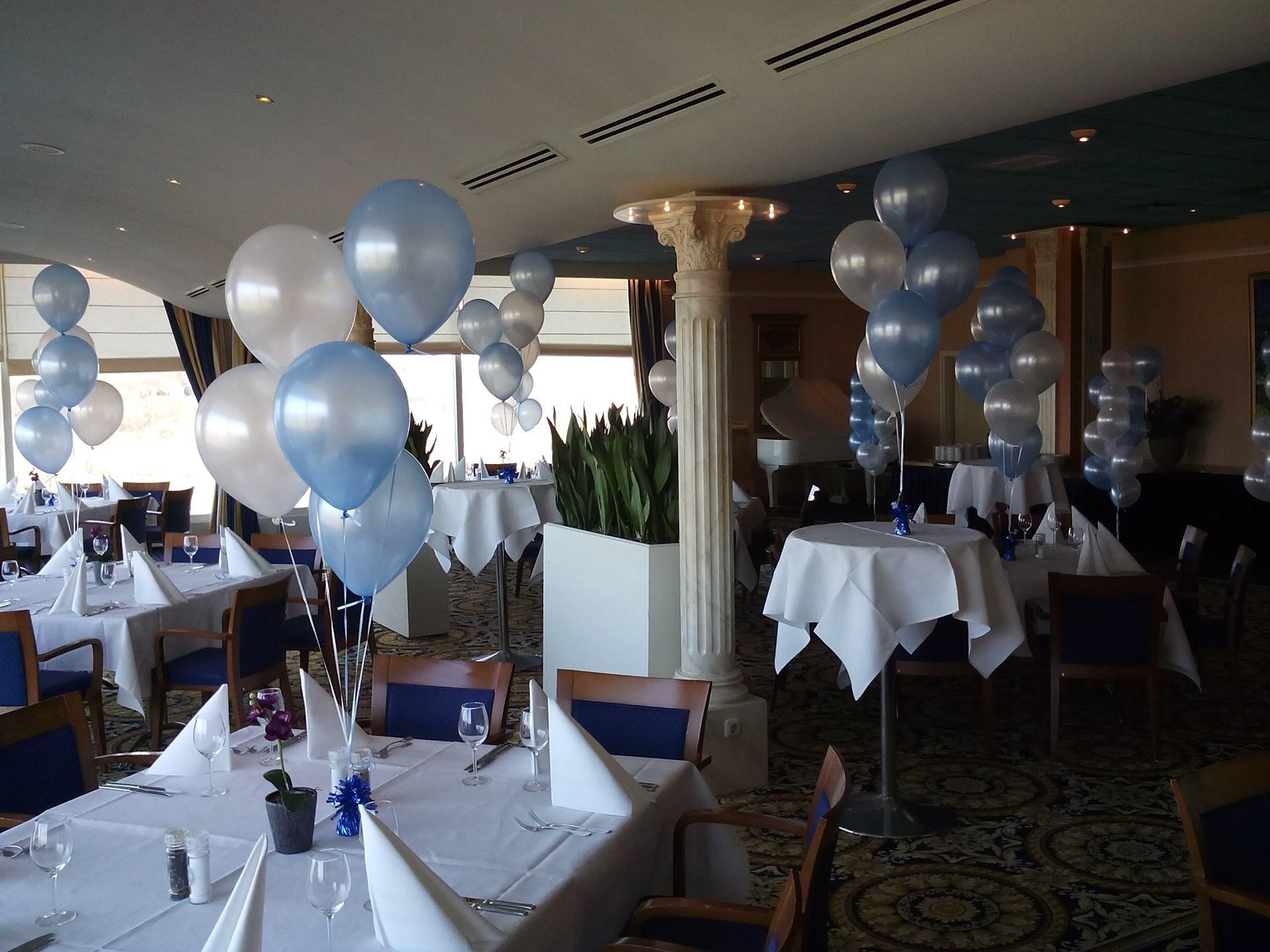 Helium ballon trosjes ballonnenpartners for Ballonnen tafels