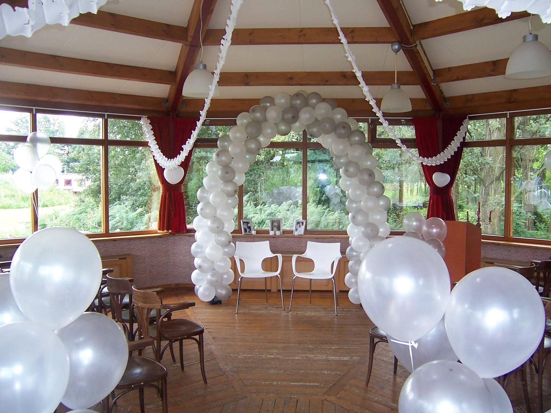 Wonderbaar Ballonnen voor bruiloft | Ballonnenpartners KY-51