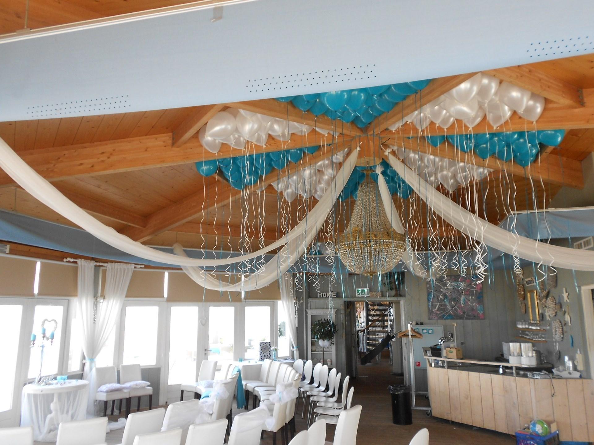 Ballonnen voor bruiloft ballonnenpartners for Goedkope decoratie