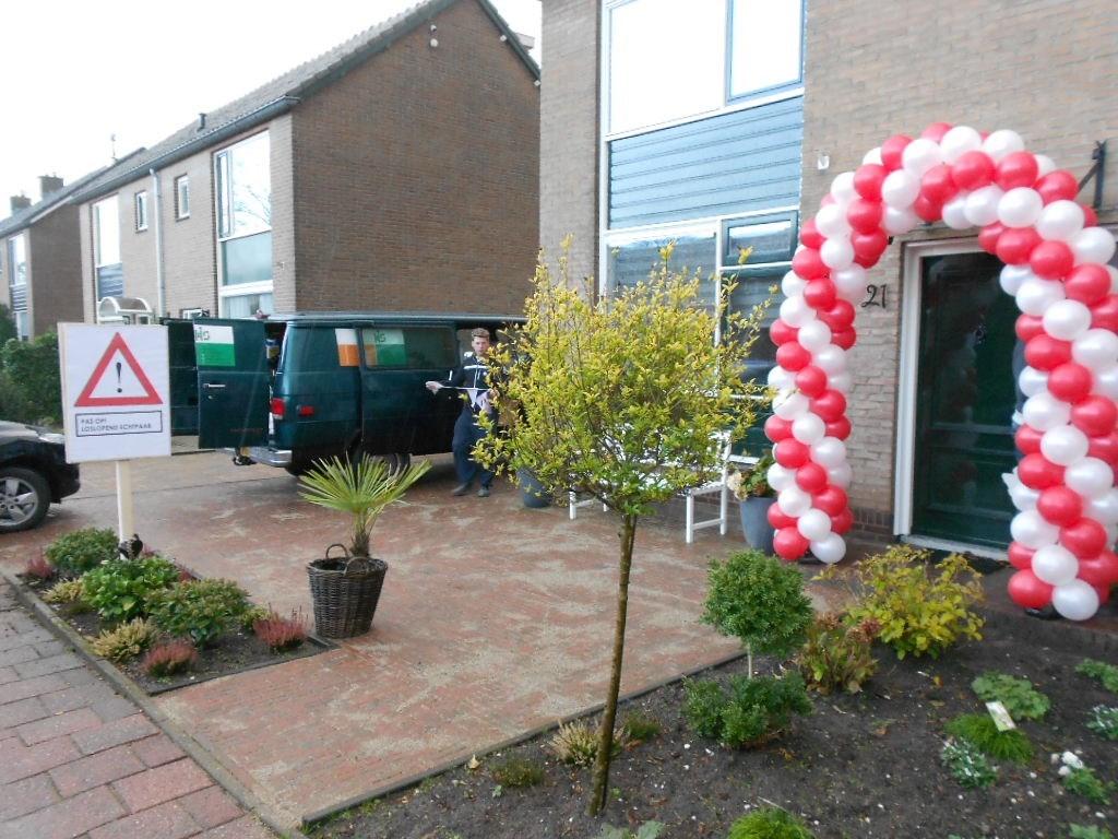 Ballonnen voor bruiloft ballonnenpartners - Versieren van een muur in ...