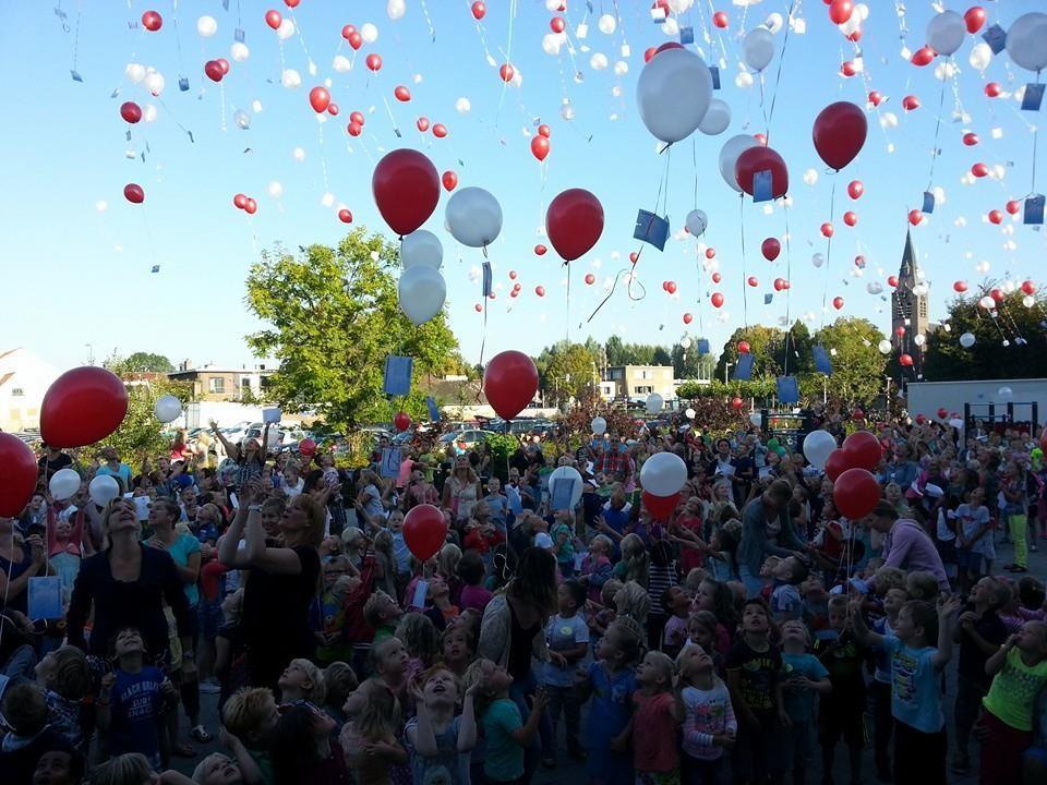 ballonnen wedstrijd Zaandam
