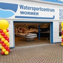 Sinterklaas intocht Wormer Watercentrum Wormer met ballon pilaren