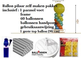 Ballonnen decoratie zelf maken ballonnenpartners for Ballonnen decoratie zelf maken