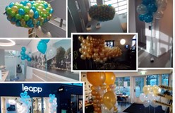 ballon decoraties voor Pepsi cola Leapp NVWA