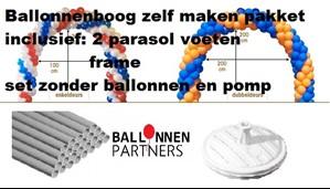 Verwonderlijk ballonnenboog zelf maken handleiding | Ballonnenpartners KX-52