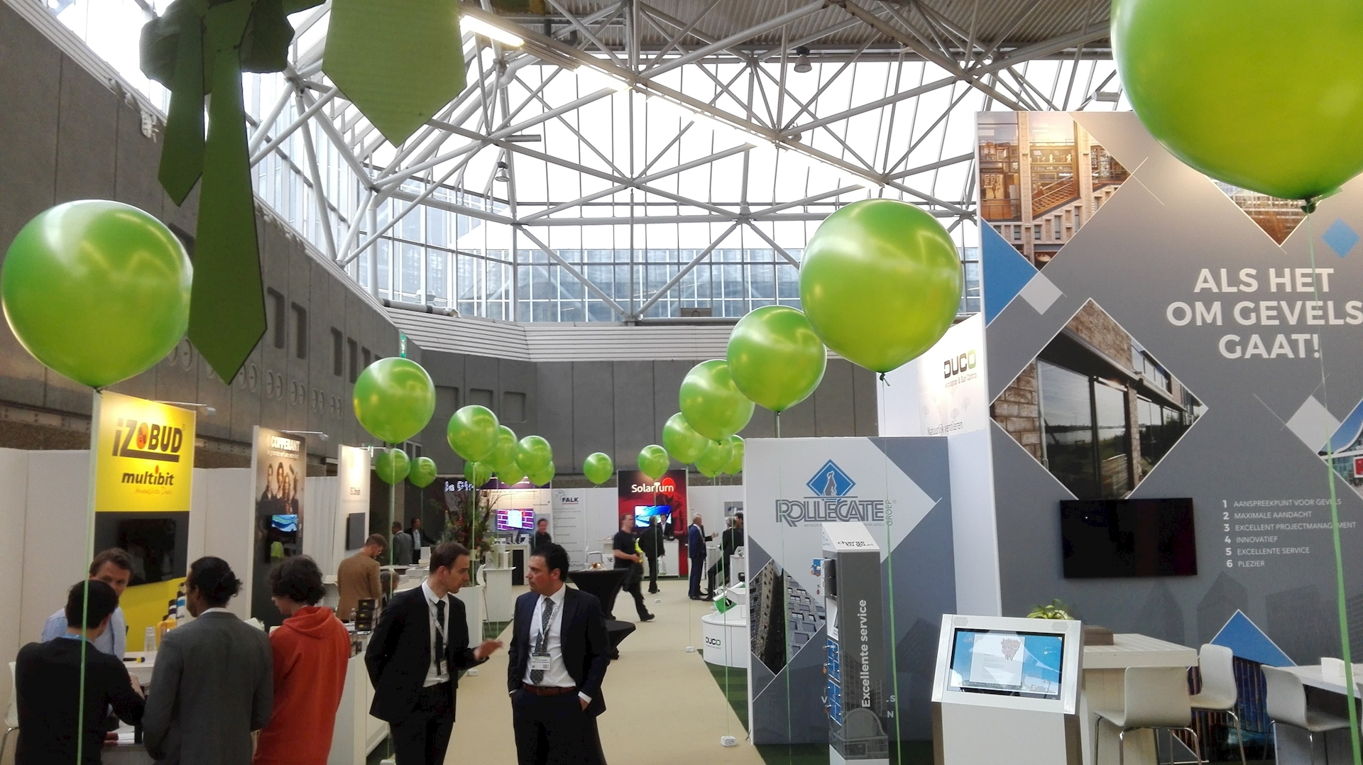 building Holland 2017 Rai Amsterdam reuze ballon decoraties