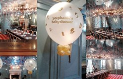 baby shower ballon decoraties Huis ter Duin Noordwijk